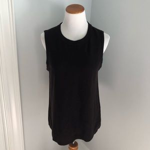 The fisher project brown wool tank top Sz. M